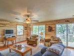 This 1,200 sqft. cabin offers a prime waterfront location on Grindstone Lake.