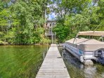 You'll love the private boat landing!