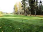 Panoramic views of the 18th fairway from GH#115