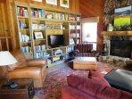 Wonderful, comfortable living area.