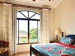 Master bedroom with views to Playa Grande