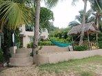 Entrance to Garden and Villa from the Beach
