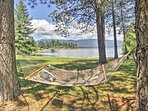 Let your worries slip away as you start gaze from the cozy hammock.