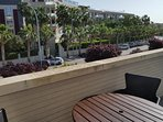 Balcony gets the morning sun