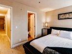 Separate en suite bathroom and mini fridge in Master bedroom.