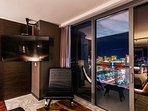 Balcony access to enjoy the beautiful views
