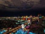 Enjoy the gorgeous views of the Strip