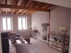 Cottage de la Rose, Living room
