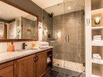 Modern Bathroom off Master