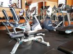 Maybe you prefer a vigorous workout in our fully equipped fitness room.