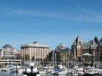 Inner Harbour - just a short walk away!
