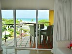 Master bedroom balcony with great ocean views too!