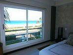 Your ocean view from the master bedroom.