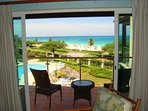 Your ocean view from the living room balcony!