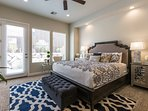 Master Bedroom - Pillowtop King Bed