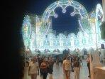Festa padronale con illuminazione