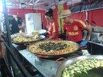 Manifestazioni con gastronomia locale e internazionali ( cucina spagnola)