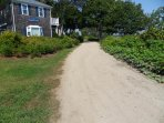 Path parallel to great bay that is more than a mile