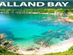 Talland Bay from the coast path