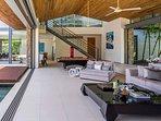 Villa Cielo - Stunning living area
