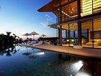 Villa Aqua - Evening ambience