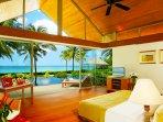 Baan Taley Rom - Bedroom sea view