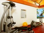 Baan Taley Rom - Gym area