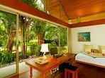 Baan Taley Rom - Bedroom garden outlook