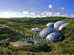 Eden Project is just 18 miles away