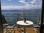 Balcon con vistas al mar
