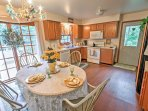 You'll love preparing home-cooked meals and snacks in the fully equipped kitchen.