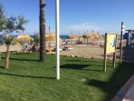 Sabinillas beach with a great selection of Bars and Restaurants Ten minutes drive from apartment