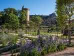 The gardens of the Chateau of Bournazel.