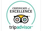 Awarded the coveted Trip Advisor 5 Star Certificate of Excellence for 2017 and 2018