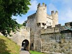 Walk round the castle walls in York