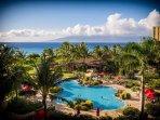 Pool View from Lanai