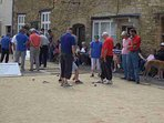 One of the many 'Boules Day' Matches