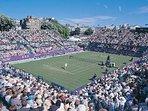 International grass court tennis at Eastbourne