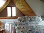 Loft with King bed, 1/2 bath