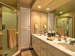 Each bedroom has its own en suite bathroom.