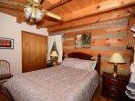 Bedroom #1 ~ Downstairs Queen Bedroom
