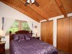 Bedroom #2 ~ Upstairs Guest Bedroom with Queen Size Bed