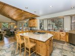 Second Home Kitchen with breakfast bar