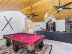 Second Home Pool Table