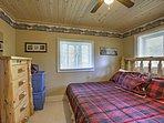 Sweet dreams await in this bedroom.