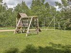 You'll also find a playground on the resort grounds for the little ones!