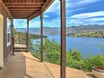 This property is truly a one-of-a-kind getaway nestled in the mountainside and offers unparalleled views of Lake Chelan...