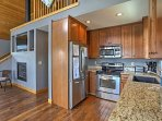 The fully-equipped kitchens with granite countertops and stainless steel appliances offer a great space to prepare a...