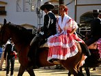 Annual Feria in La Cala, with horse parade and Spanish Regalia, on late each night, great event!