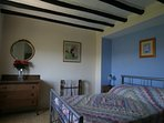 Traditional, comfortable and spacious - one of the farmhouse double bedrooms